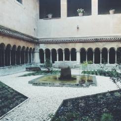 Chiostro Monastero Agostiniano SS. Quattro Coronati
