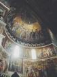 Mosaico Absidale Santa Maria in Trastevere, in basso: Storie della Vergine (Pietro Cavallini)